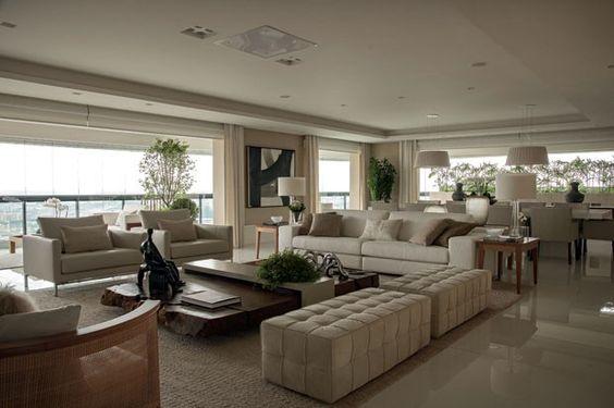 Como escolher a poltrona para sua sala de estar for Sala de estar lujosa