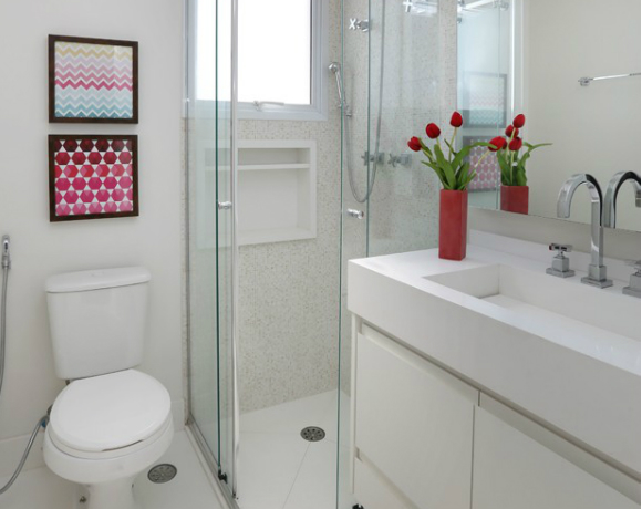 Decoração de Banheiros Saiba como Decorar seu Banheiro -> Banheiro Pequeno Quarto